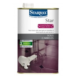 Protection star sol carrelage brillant 1L - Starwax